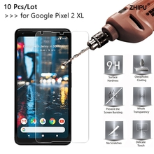 10 Pcs/Lot 2.5D 0.26mm 9H Premium Tempered Glass For Google Pixel 2 XL Screen Protector Toughened protective film