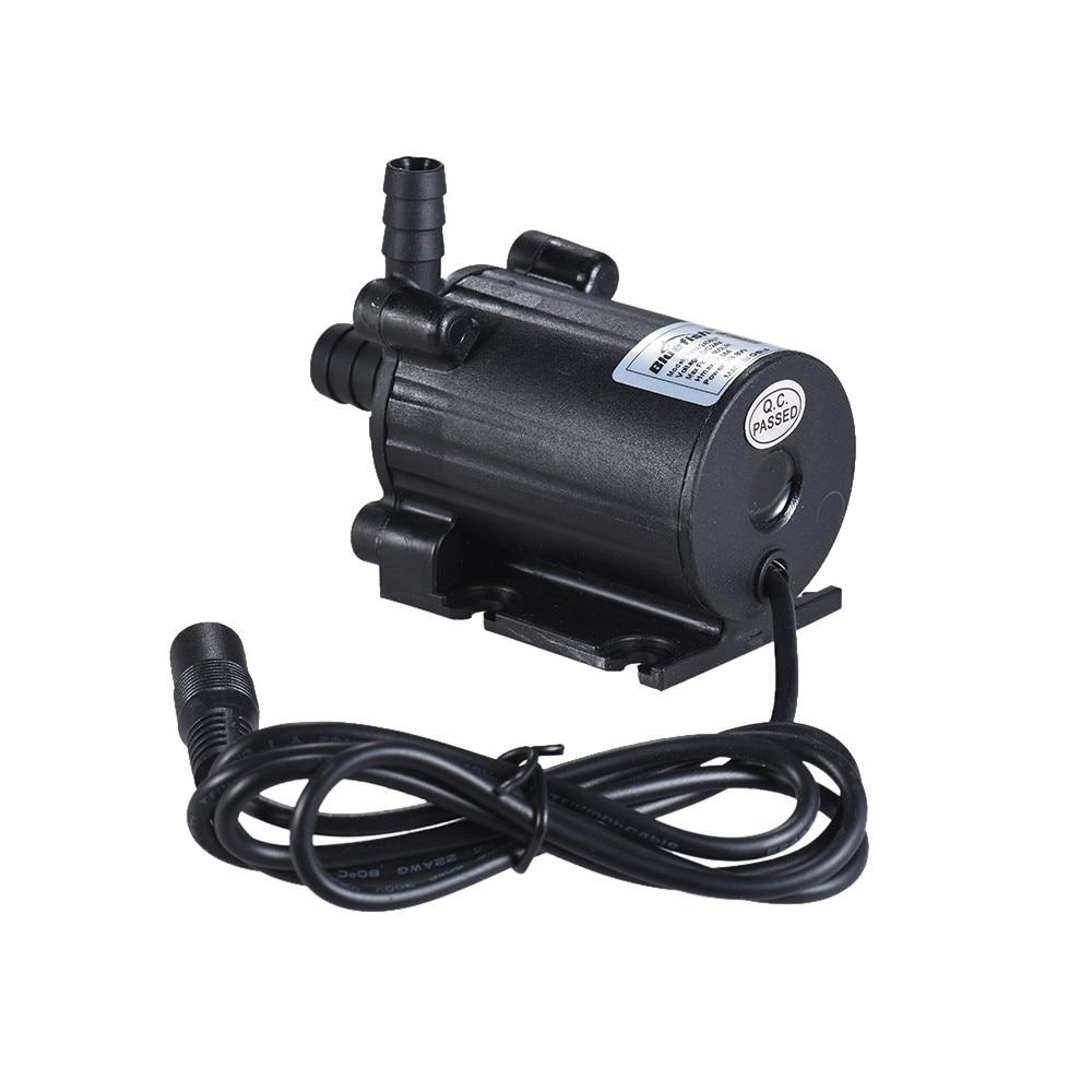 Mini pompe à eau DC 12 V pour fontaine/cascade/rocaille/circulation d'eau/retour d'eau solaire DC sans brosse basse tension