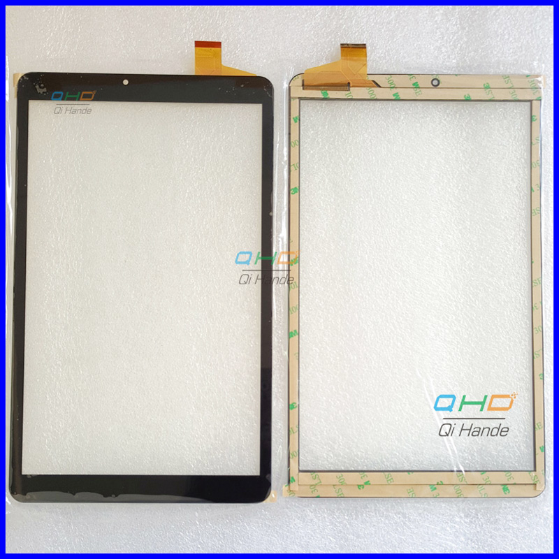 Black New touch screen digitizer For 10.1 -inch YJ406FPC-V1 Touch panel Sensor Replacement Free Shipping for sq pg1033 fpc a1 dj 10 1 inch new touch screen panel digitizer sensor repair replacement parts free shipping