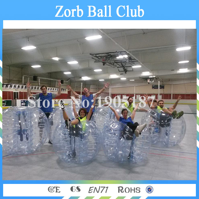 Free Shipping 5PCS+1 Pump 1.5m Zorb Football Zorb Soccer Balls For Sale Bubble Soccer