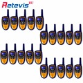 10Pair Wholesale Lots New Mini Children Walkie-Talkie Kids Retevis RT31 8CH 0.5W UHF PMR446 VOX LCD Display Portable Handy Radio