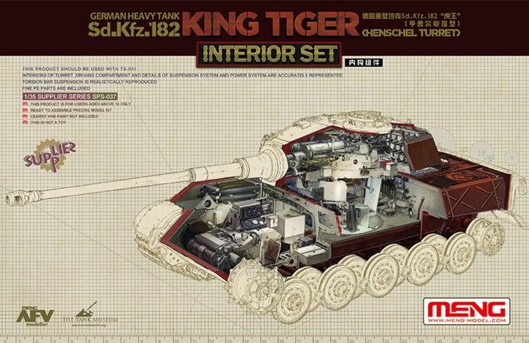 Tamiya 35164 1:35 Pz.Kpfw.VI King Tiger Sd.Kfz.182 Production Turret