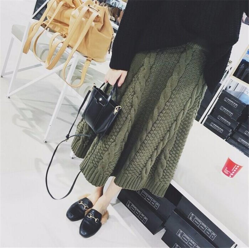 winter thick skirt 02