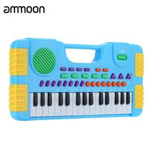 31 Keys Multifunction Mini Electronic Keyboard Piano Music Toy Educational Cartoon Electone Gift for Children Babies Beginners(China)