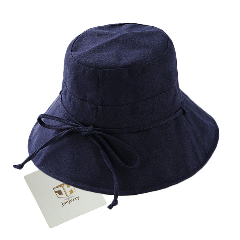 joejerry Bucket Hat Women Fisherman Japanese Hat Wide Brim Cloth Sun Block  Hats UV Protection For Summer Spring -in Bucket Hats from Apparel  Accessories on ... 2233be1fade