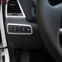 Для hyundai Tucson 2015-2017 2019 2018 фара переключатель украшения крышка отделка автомобиля интерьерные украшения аксессуары
