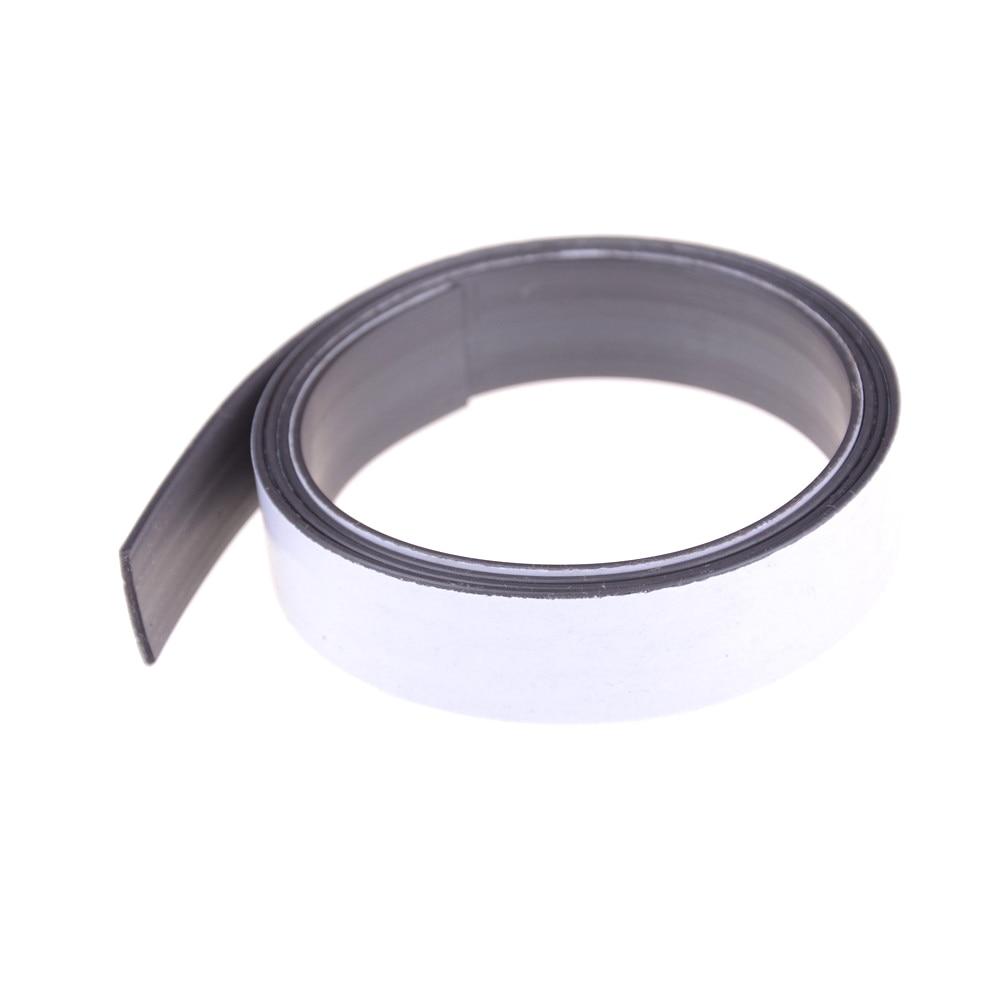 1 м мягкая резиновая магнитная лента самоклеющаяся гибкий магнит DIY полоса лента