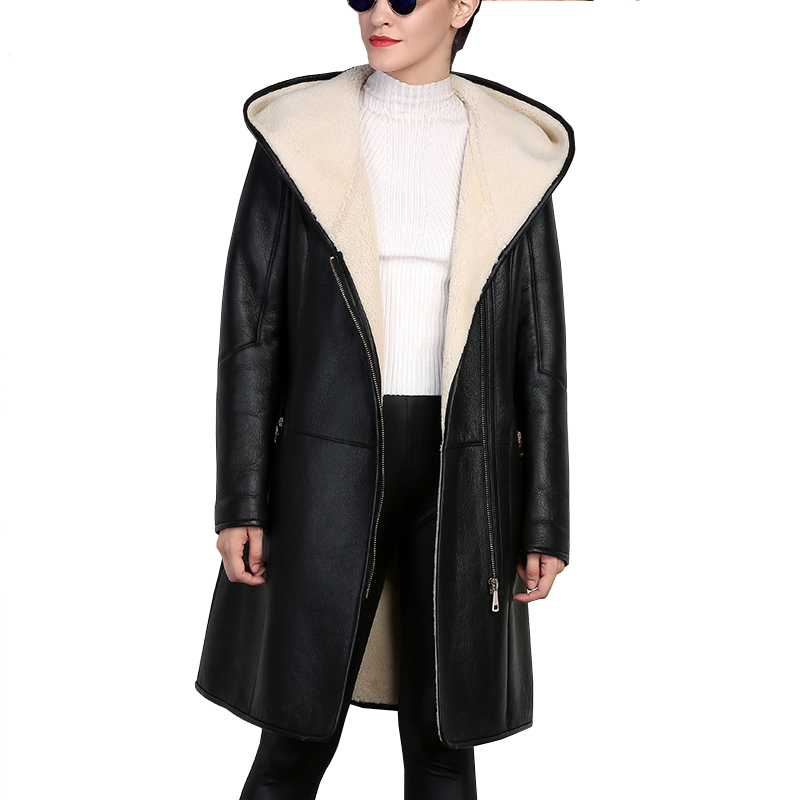 Genuine Shearling Coats Promotion-Shop for Promotional Genuine ...