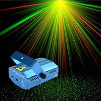 Mini Full Stars Sky Pattern Laser Projector Club Bar Shop Dance Disco Party Xmas DJ Sound