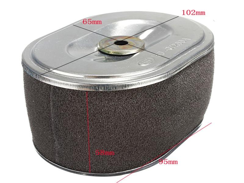 Auto Car Air Filter Cleaner For HONDA ENGINE GX160 GX200 5.5HP & 6.5HP Element