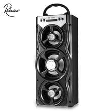 Оригинальный redmaine Беспроводной Динамик MS-220BT 10 Вт LED Портативный Bluetooth Динамик 800 мАч Super Bass громкоговоритель Поддержка FM радио