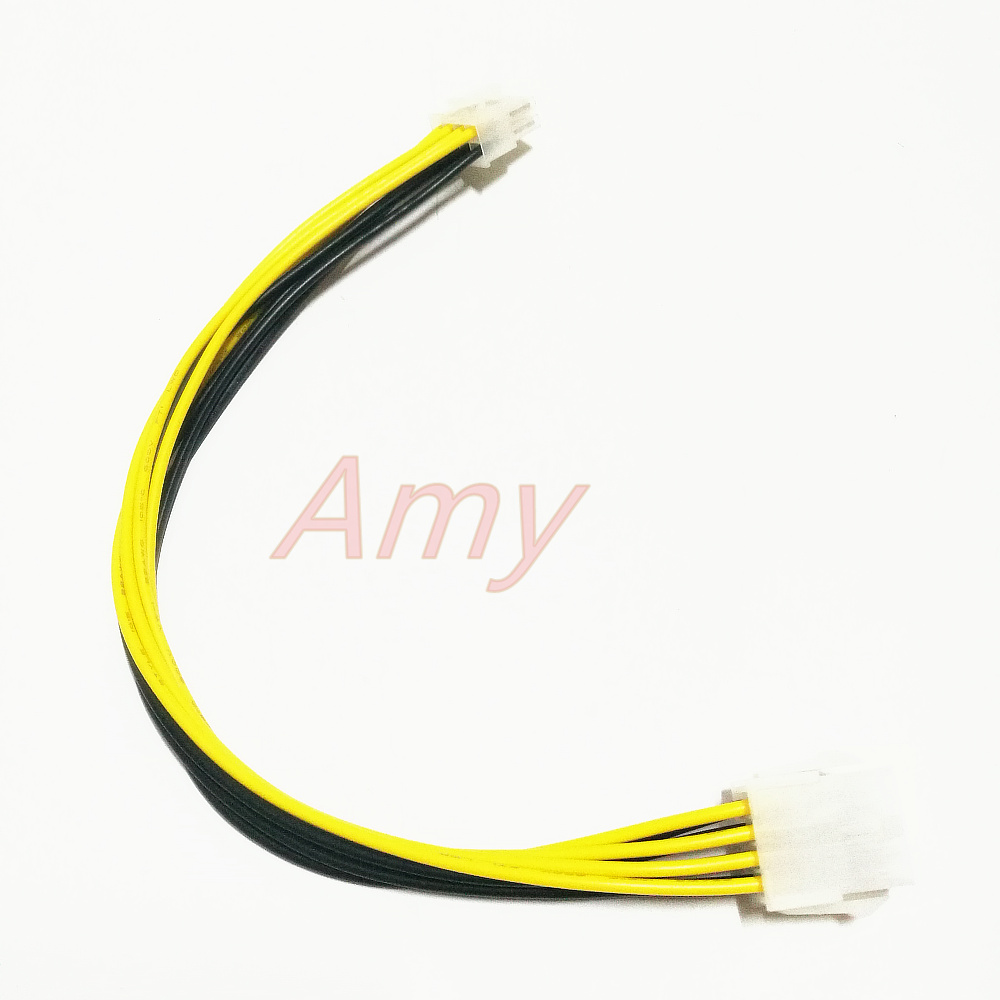 5pcs/lot  8Pin Power Extension Cord Extension Cord CPU 8Pin Motherboard 8PIN 8P 8-pin Extension Cable 30 Cm