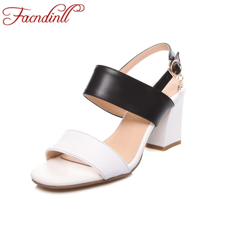 ФОТО 2017 fashion women shoes real leather mixed color gladiator sandals summer cut outs ladies summer casual beach shoes plus size