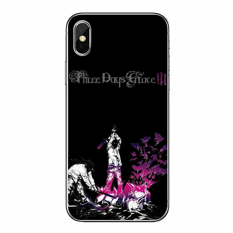 Three Days Grace TDG 3DG HUMAN Album Band For Motorola Moto X4 E4 E5 G5 G5S G6 Z Z3 G3 C Play Plus Transparent Soft Shell Covers