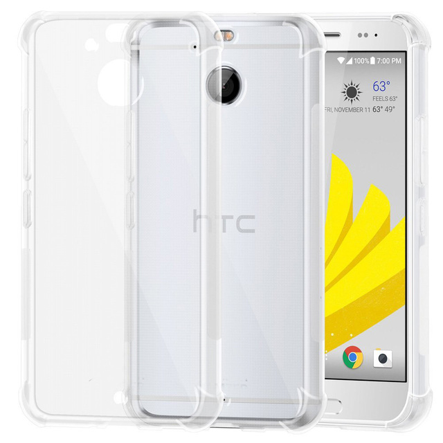 new product 06c77 f20ca US $3.51 10% OFF|Ultra Thin Soft TPU Transparent Silicone Clear Case Cover  for HTC Bolt / HTC 10 Evo-in Fitted Cases from Cellphones & ...