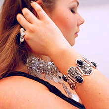 Vintage Bohemian Wide Women's Bracelet