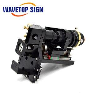 Image 3 - WaveTopSign testa di taglio Laser a CO2 mista 500W lente di messa a fuoco 25*63.5 25*101.6mm specchio riflettente 30*3mm messa a fuoco automatica ibrida Non metallica in metallo