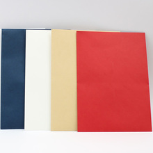 Прямая 3X Свадебные/открытка-приглашение конверты цвета слоновой кости/красный/ремесло/темно-синий 195*135 мм/160x160 мм