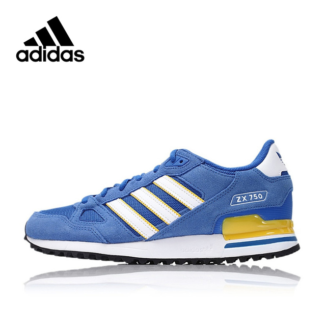 91605da39593 New Arrival Official Adidas Originals ZX 750 Men s Breathable Skateboarding  Shoes Sports Sneakers