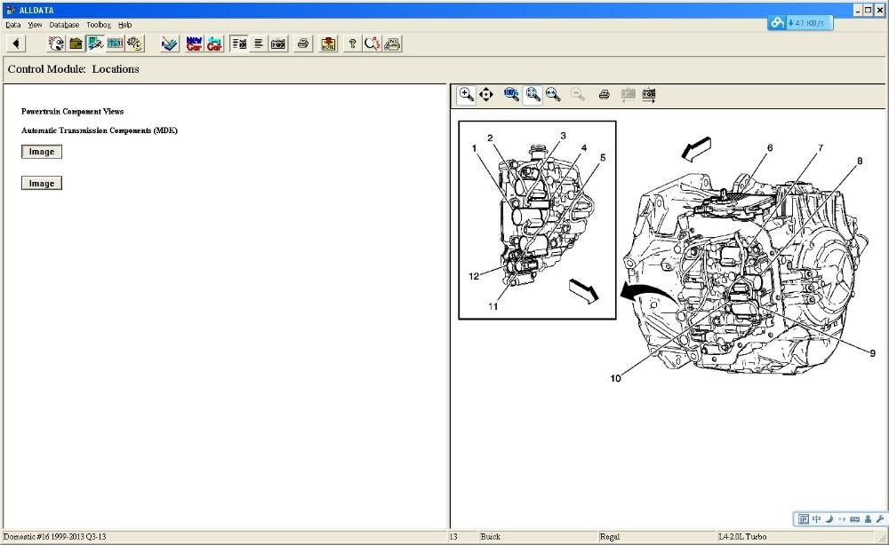 Auto reparatur software Alldata 10,53 + Lebendige WorkshopData ...