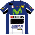 2016 VR 46 VALENTINO ROSSI TUTA Movistar T-Shirt M1 Racing the doctor Moto GP Tee