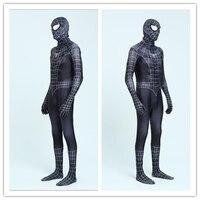 Red Black Spiderman Costume Spider Man Suit Spider Man Costumes Adults Children Kids SpiderMan Cosplay Clothing
