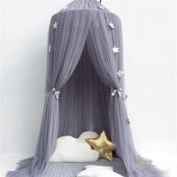 Baby Crib Netting For Infant Newborn Hanging Mosquito Net Tent Canopy Children Bedding Round Mosquito Net