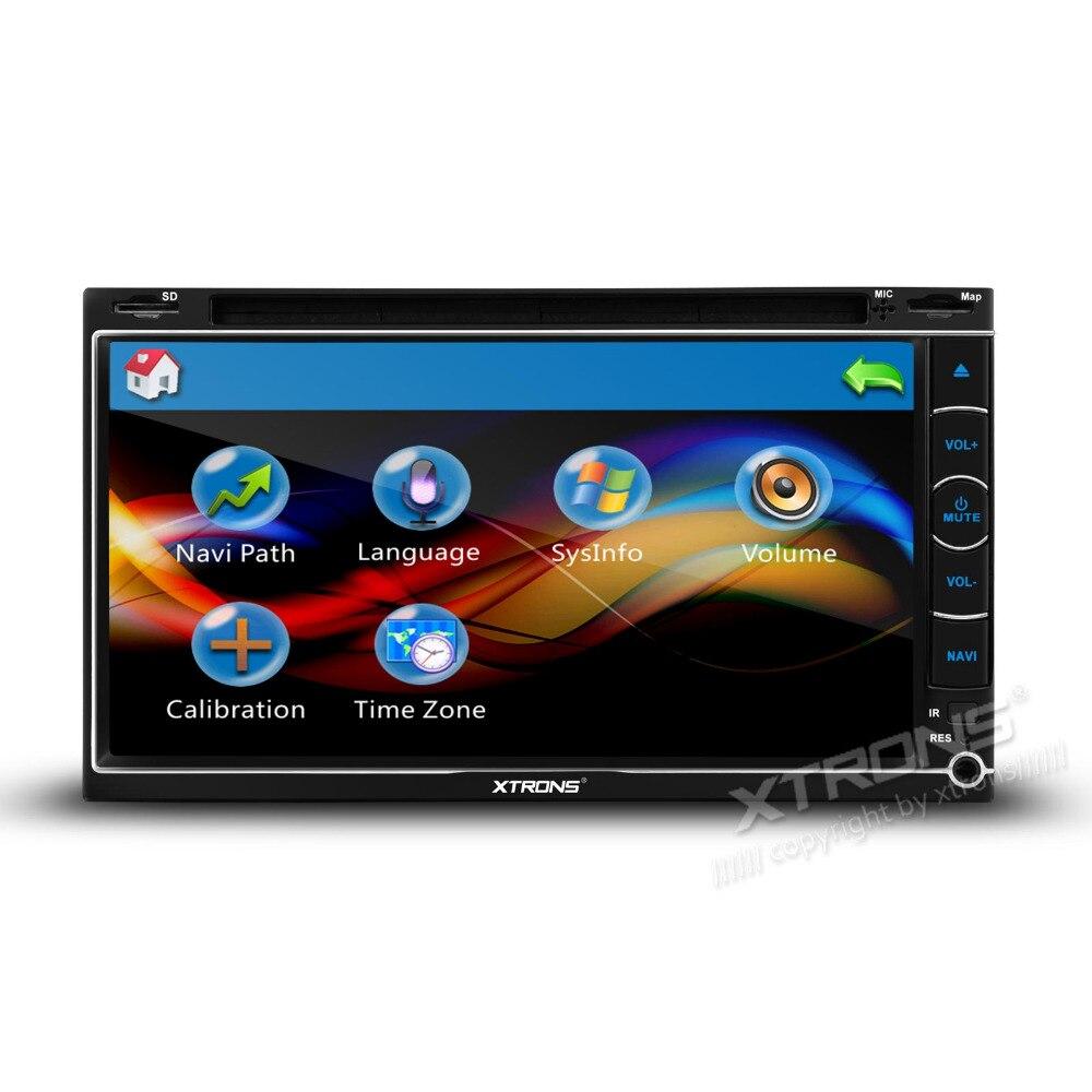 Aliexpress com buy xtrons 2 din 6 95 touch screen universal car dvd player radio usb sd bluetooh gps navigation stereo video multimedia automotivo from