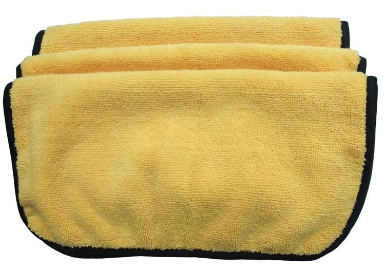 3 шт. 360gsm 30 см x 30 см плюшевая микрофибра две разные стороны полотенце для ухода за автомобилем автоматическая Чистка детализация воском блестящая одежда
