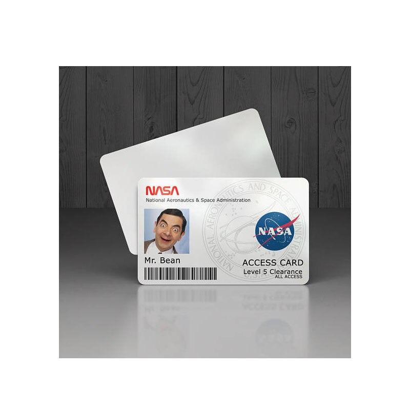 200 stücke/one design custom business kunststoff karte glänzend pvc 0,76mm dicke name ID karte-in Visitenkarten aus Büro- und Schulmaterial bei  Gruppe 2