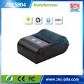 ¡ Venta caliente! envío libre 2 pulgadas Bluetooth Impresora de etiquetas para 1D/2D Barcode soporte móvil android proporcionar SDK gratuito ZKC5804