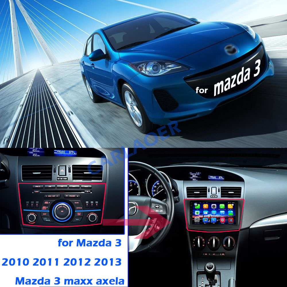 Image 3 - For Mazda 3 2004 2013 maxx axela android 8.1 Car DVD GPS Radio Stereo 1G 16G WIFI Free MAP Quad Core 2 din Car Multimedia Player-in Car Multimedia Player from Automobiles & Motorcycles