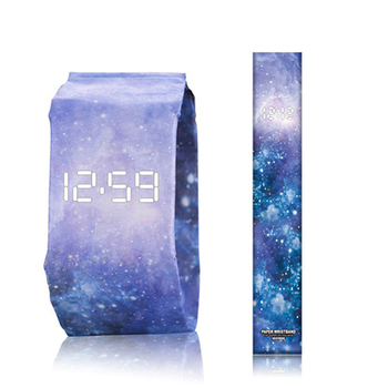 2020 Trendy DIGITAL LED Watch Paper Water/Tear Resistant Watch Perfect Gift 18 Variants 3