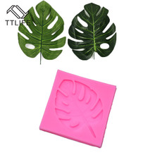 TTLIFE Banana Leaf Silicone Mold Plant Fondant Cake Pastry Decorating Tools Chocolate Confeitaria Baking Moulds Kitchen Gadget цена