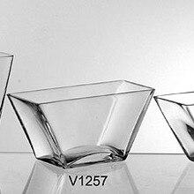 Прозрачная стеклянная ваза квадратный цилиндр гидропонный цветок Простые Модные украшения широкий декоративный стол Гостиная