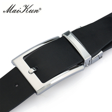 Classic Genuine Leather Pin Buckle Belt For Men