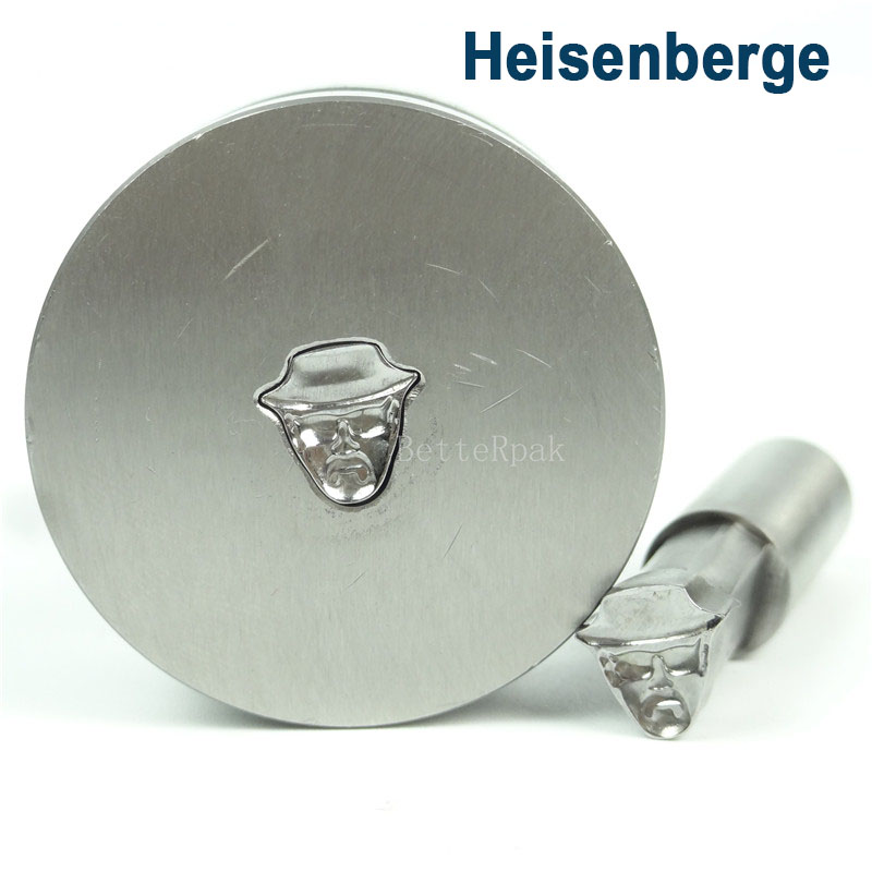 Heisenberg Cartoon Die/Press Mold/ press Die TDP-0/1.5T/5T (9.17*9.17mm) ha ha die mold manipulator accessories big big jig jig mold with a switch ha ha mold manipulator assembly