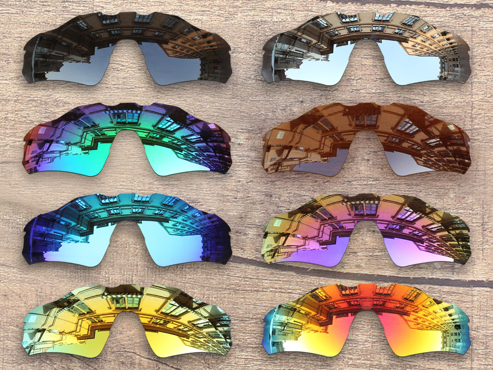 PapaViva POLARIZED Replacement Lenses for Authentic Radar EV Path Sunglasses 100% UVA & UVB Protection - Multiple Options