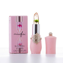 New Long Lasting Moisturizer Transparent Flower Lipstick