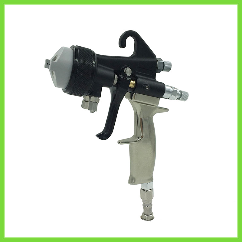 SAT1205 podwójnego działania opryskiwacza airbrush lustro chrom poliuretanowy pistolet wysokociśnieniowy pistolet pneumatyczny obrabiarka