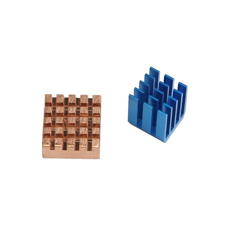 Raspberry Pi 3 Model B Copper Aluminium Cooling Heatsink For Raspberry Pi 3/2 Heat Sinks
