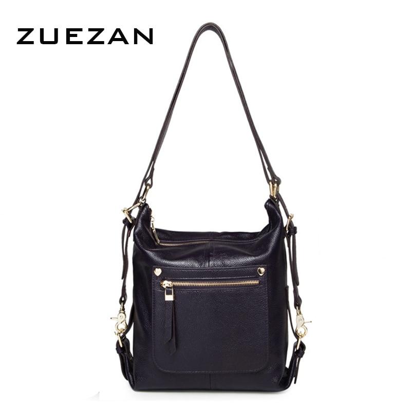 Shipped after September 1 Women Genuine Leather Shoulder Bag 100 Natural Cowhide Fashion Female School