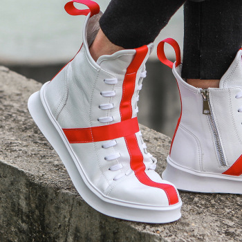 High-Top Fashion Comfort Zip Boots