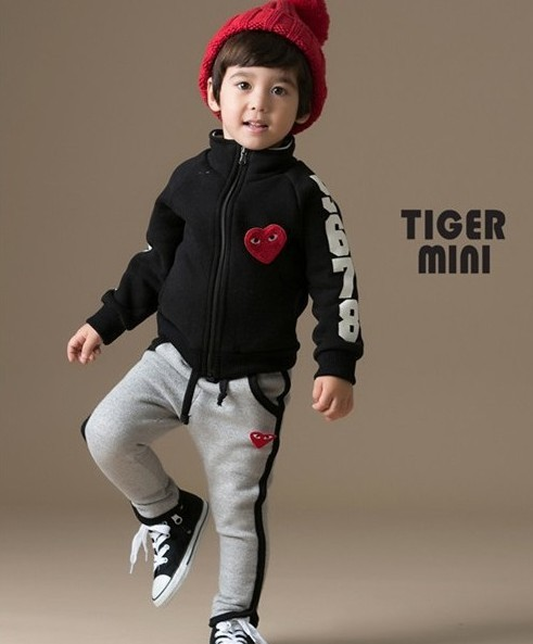 Retail New Fashion 2015 Children Outfits Tracksuit Clothing Children Hoodies + Kids Pants Sport Suit Boys Clothing Set