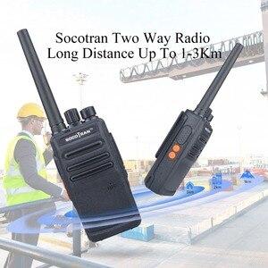 Image 4 - במוסקבה נייד חזיר שתי בדרך רדיו ווקי טוקי נטענת ארוך טווח UHF 400 470MHz 16CH לציד אבטחה מסחרי