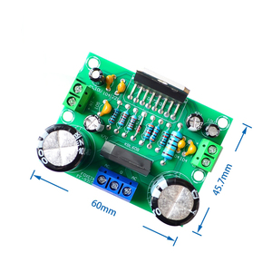 Image 3 - 5 個の Ac 12 V 32 V 100 ワットデジタルオーディオアンプシングルチャネル TDA7293 アンプボード