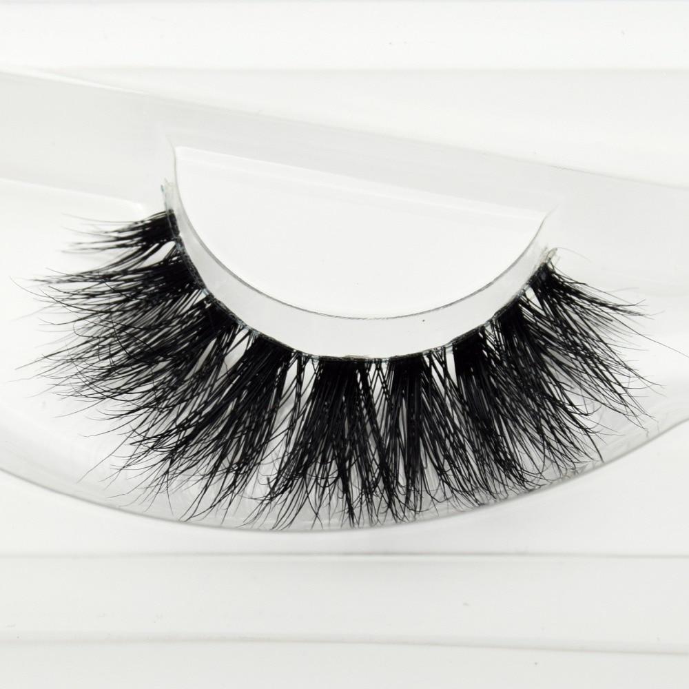 Visofree Mink Lashes 3D Mink Eyelashes Invisible Band Natural Black Mink False Eyelash Full Strip Cilios Posticos Reusable F37