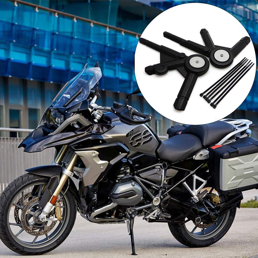 KEMiMOTO For BMW R1200GS LC/ R1200GS LC Adventure 2013 2014 2015 2016 Left & Right Side Frame Guard Protector Panel Cover kemimoto for bmw motorcycle front brake caliper cover protection cover guard for bmw r nine t 2014 2017 r1200gs lc 2013 2015