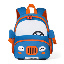 3D Cute Dinosaur School Bags For Boys Kindergarten School Backpacks for Girls Creative Animals Kids Bag Mochila Infantil цена