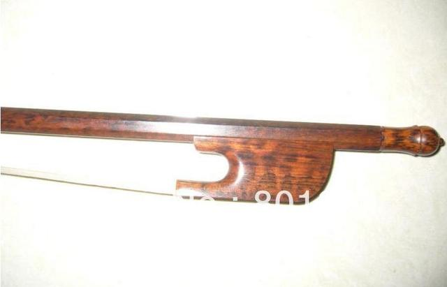 Beautiful baroque viola bow snake wood bow stick baroque bow